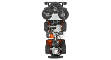 husqvarna rider 320 awd rasentraktor aufsitzm her. Black Bedroom Furniture Sets. Home Design Ideas